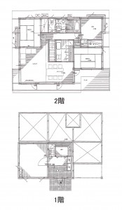 竹内山荘平面図